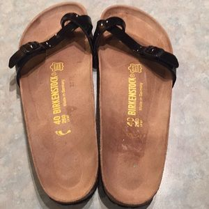 Birkenstock black slides